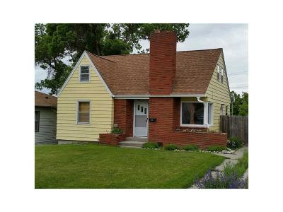 Billings MT Single Family Home For Sale: $215,000