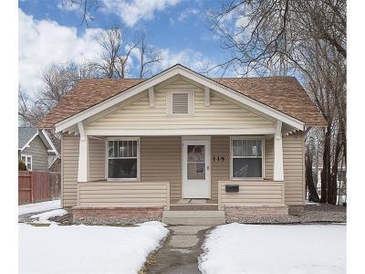 Single Family Home For Sale: 115 Alderson