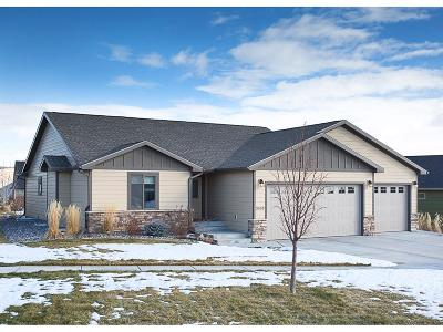 Billings Single Family Home For Sale: 3003 Western Bluffs Boulevard