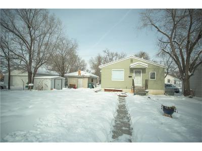Billings MT Single Family Home For Sale: $167,900