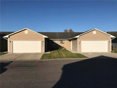 Billings MT Condo/Townhouse For Sale: $185,000