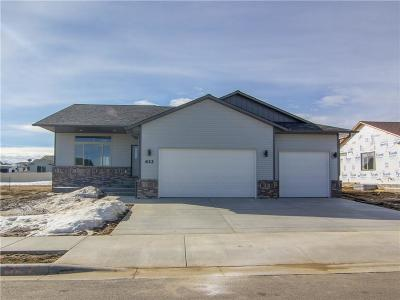 Billings MT Single Family Home For Sale: $312,900