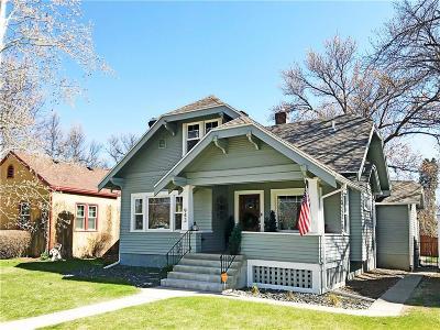 Billings Single Family Home For Sale: 943 N 32nd Street