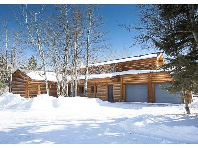 Red Lodge MT Single Family Home For Sale: $998,000