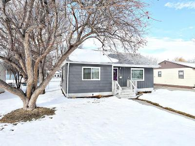 Billings MT Single Family Home Contingency: $175,000