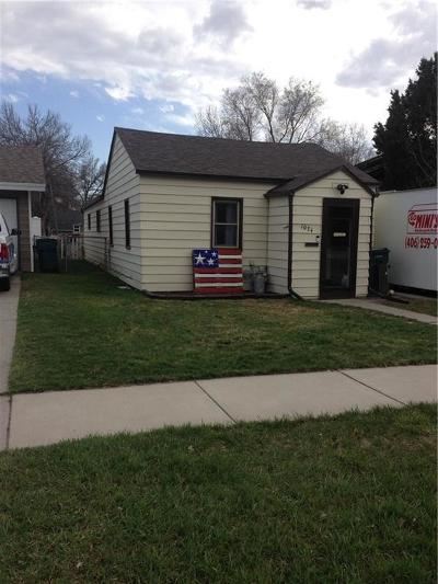 Billings Single Family Home For Sale: 1034 Terry