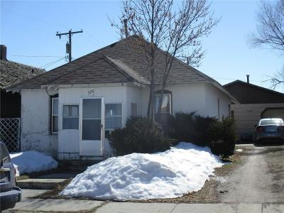 Single Family Home For Sale: 320 W 2nd Street