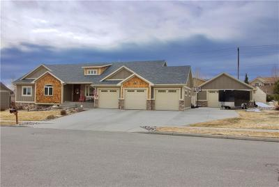 Billings Single Family Home For Sale: 3485 Stone Mountain Circle