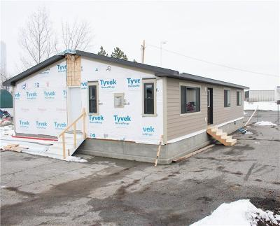 Single Family Home For Sale: 3803 Central Ave. #,Modular
