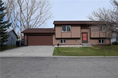 Single Family Home For Sale: 3447 Barley Circle