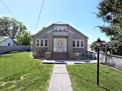 Single Family Home For Sale: 530 Bench Blvd