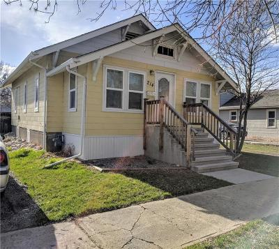 Single Family Home Contingency: 214 Durland Avenue