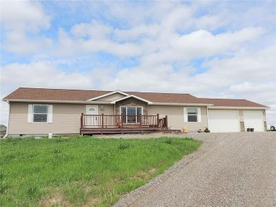 Billings Single Family Home For Sale: 7801 Monad Road