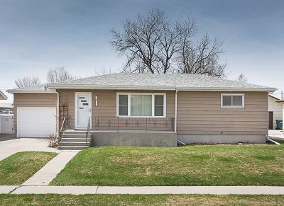 Billings MT Single Family Home For Sale: $219,900