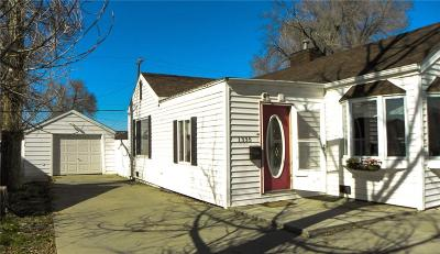 Billings Single Family Home For Sale: 1335 Custer