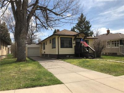 Single Family Home For Sale: 3116 2nd Ave North, Great Falls