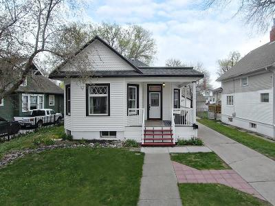 Yellowstone County Single Family Home Contingency: 219 Wyoming Avenue
