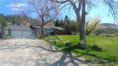 Absarokee Single Family Home For Sale: 3380 Highway 78