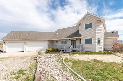 Yellowstone County Single Family Home For Sale: 13404 Pryor Road