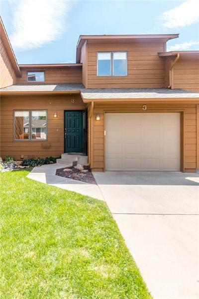 Billings Condo/Townhouse For Sale: 3175 Solar Blvd #3