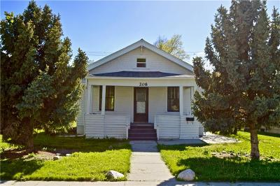 Billings Single Family Home For Sale: 208 S 34th St.