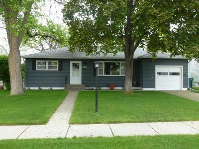 Billings MT Single Family Home Contingency: $180,000