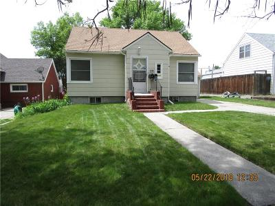 Billings MT Single Family Home Contingency: $169,500
