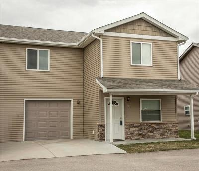 Billings MT Condo/Townhouse For Sale: $165,000