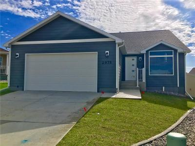 Billings MT Single Family Home For Sale: $329,900
