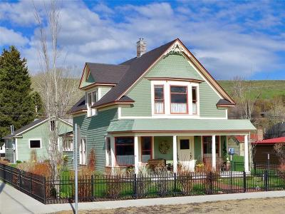 Red Lodge Single Family Home For Sale: 723 S McGillen Avenue