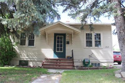 Yellowstone County Single Family Home Contingency: 513 Broadwater Avenue