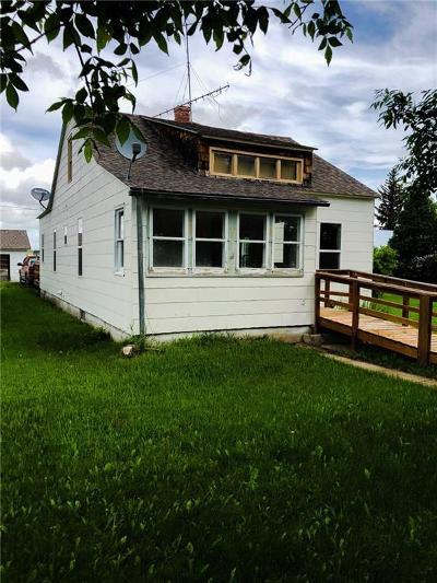 Single Family Home For Sale: 613 Main Ave, Denton