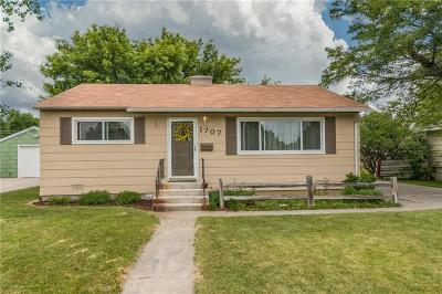 Single Family Home For Sale: 1707 Yellowstone Avenue