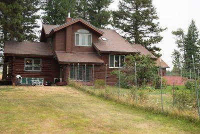 Single Family Home For Sale: 6590 Farm To Market Rd, Whitefish