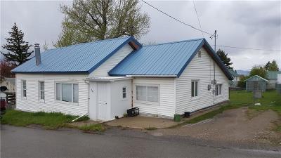 Single Family Home For Sale: 201 3rd Ave NE, White Sulphur Springs