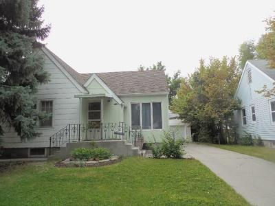 Yellowstone County Single Family Home Contingency: 712 Yellowstone Avenue