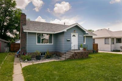 Single Family Home For Sale: 934 Custer Avenue