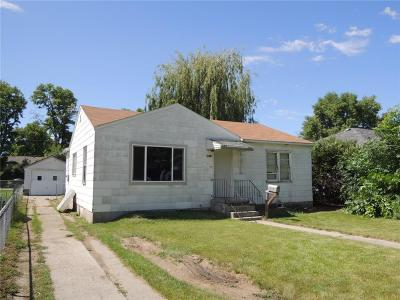 Billings MT Single Family Home For Sale: $95,000