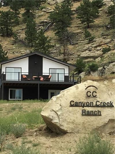 Single Family Home For Sale: 13023 Canyon Creek Road