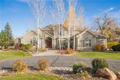 Billings Single Family Home For Sale: 4365 Duck Creek Road
