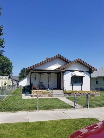 Billings Single Family Home Contingency: 305 S 39th Street