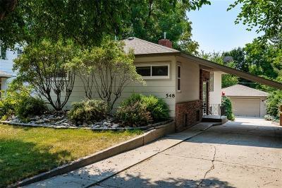 Single Family Home For Sale: 548 Park Lane