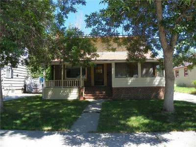 Billings Single Family Home For Sale: 635 Clark Avenue