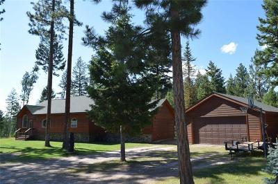Single Family Home For Sale: 472 Timberlane, Seeley Lake