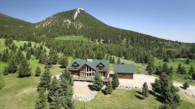 Red Lodge MT Single Family Home For Sale: $898,000