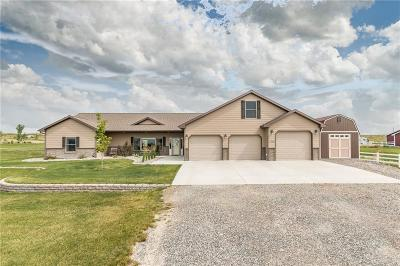 Billings Single Family Home For Sale: 7509 Monad Road
