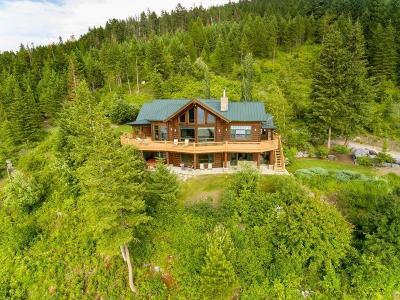 Single Family Home For Sale: 16428 Sunset Heights Dr, Bigfork