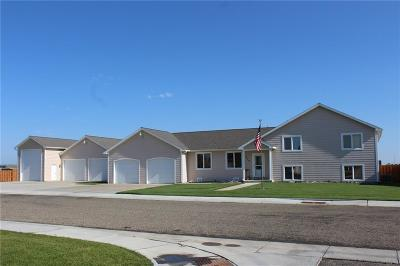 Hardin MT Single Family Home For Sale: $299,900