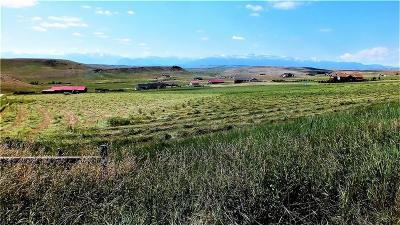 Absarokee Residential Lots & Land For Sale: Tbd Lot #8 Crow Chief Meadows