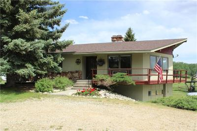 Red Lodge MT Single Family Home For Sale: $490,000